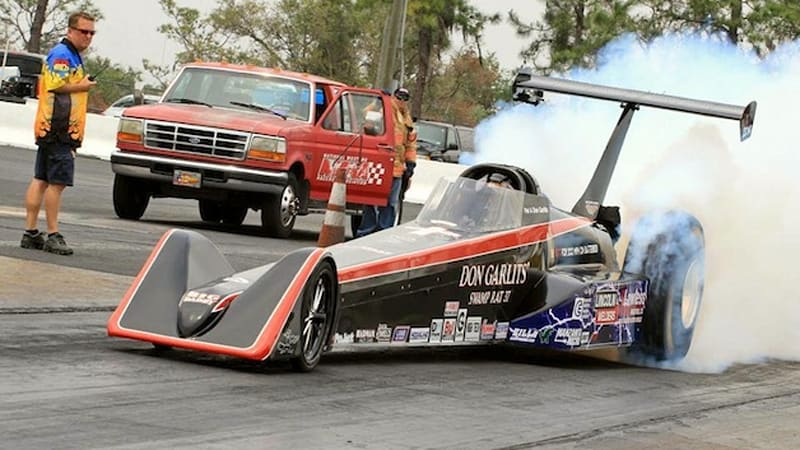 Drag Racing Legend Daddy Don Garlits Didn T Quite Reach His Goal Of Getting Electric Dragster To Break The 200 Mile Per Hour Mark