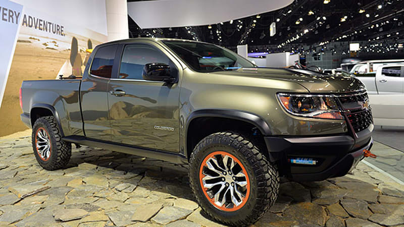 Chevrolet Colorado Zr2 Concept Suggests A Diesel Off Road