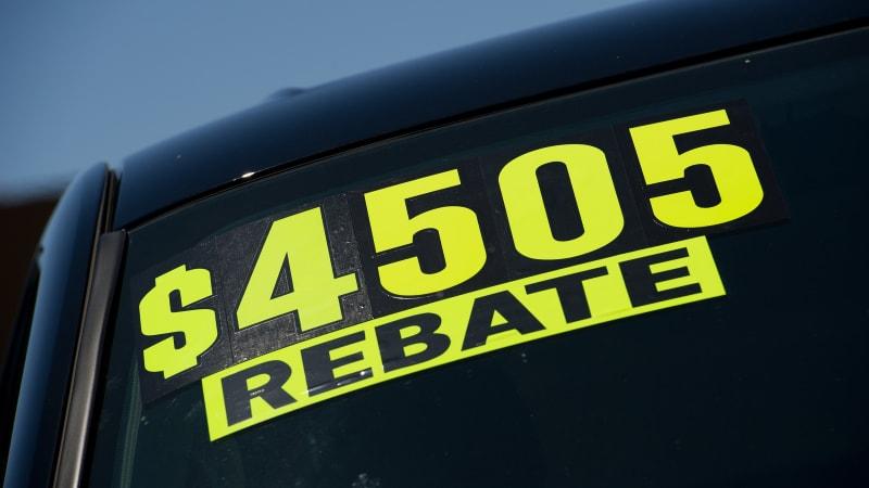 Image result for auto dealer rebate