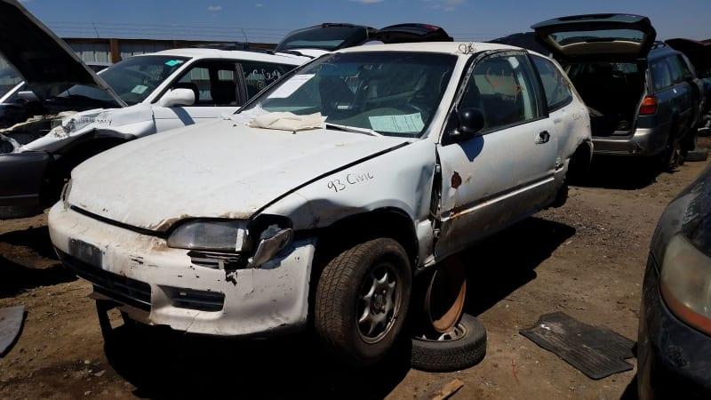 1993 Honda Civic VX Hatchback junkyard find | Autoblog