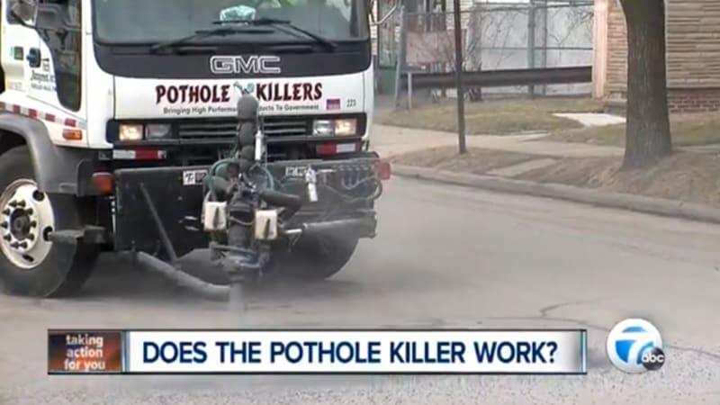 'Pothole Killer' faster than a four-man road crew