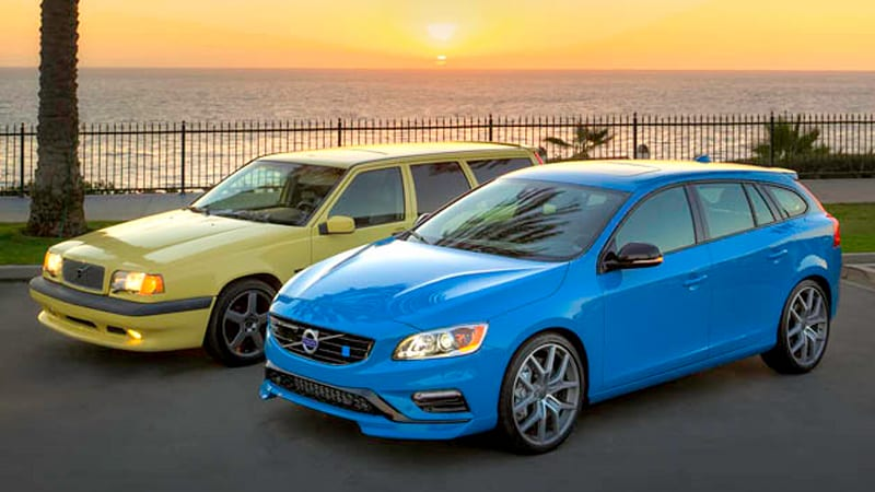 volvo celebrates 20 years of sleeper wagons with 850 t 5r and v60 polestar autoblog. Black Bedroom Furniture Sets. Home Design Ideas