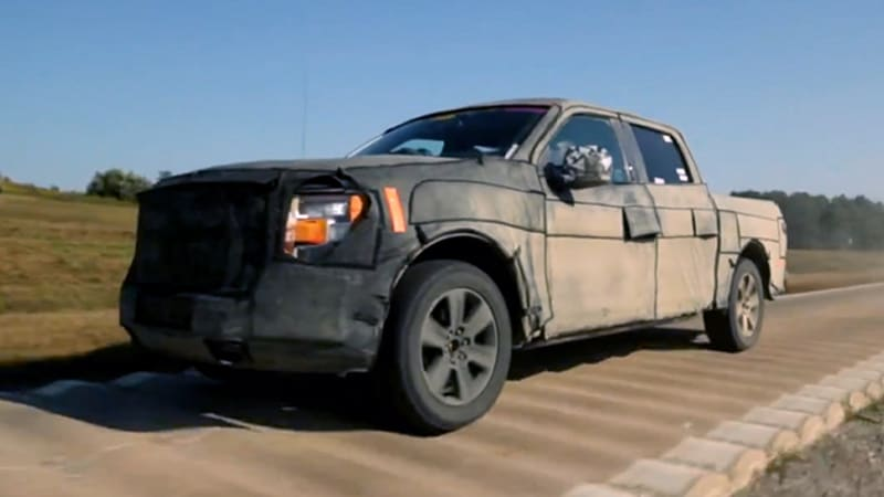 Watch how Ford torture-tested the 2015 F-150 | Autoblog
