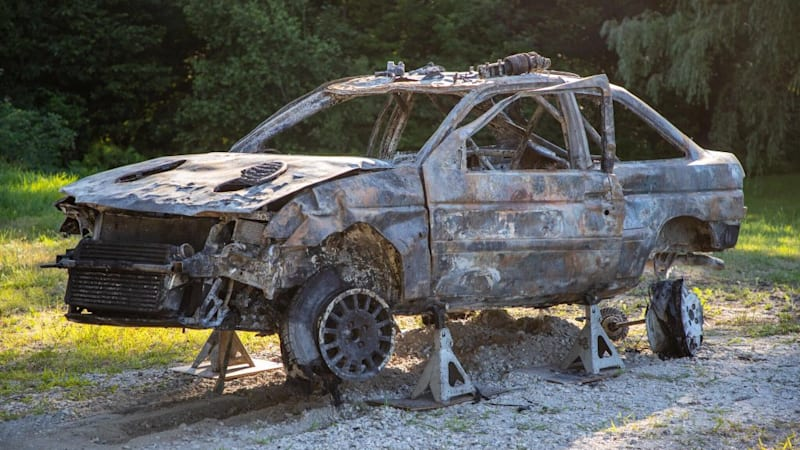 Certified Pre Owned Ford >> Ken Block tweets photos of his destroyed rally car - Autoblog