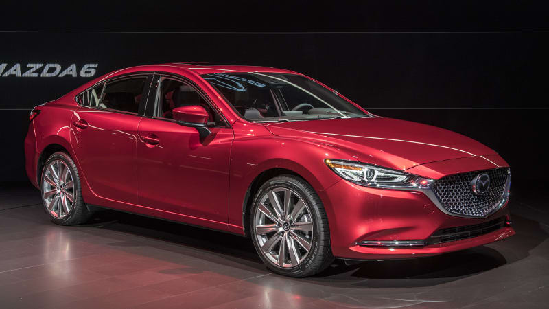 2018 mazda mazda6 adds powerful turbo engine more efficient base engine luxury signature trim. Black Bedroom Furniture Sets. Home Design Ideas