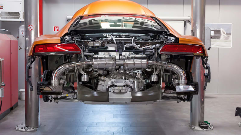 This Audi R8 V10 Sounds Great With A Capristo Exhaust Autoblog