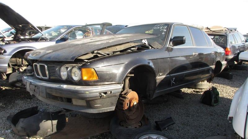 Junkyard Gem: 1988 BMW 735iL