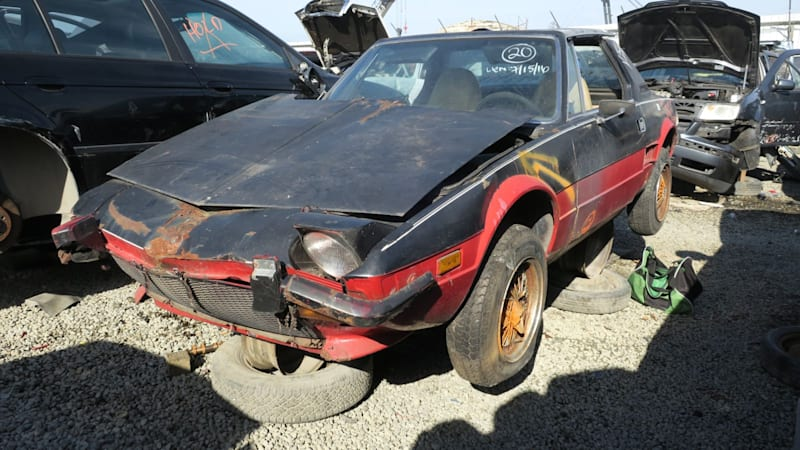 Junkyard Gem: 1974 Fiat X1/9