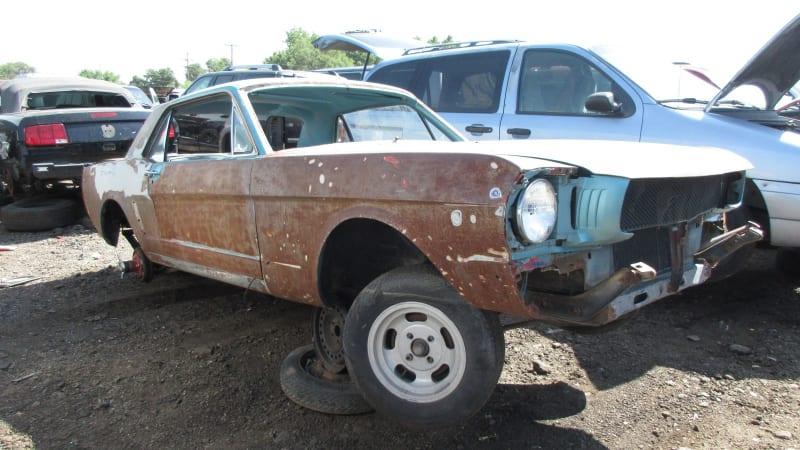 1965 Ford Mustang Hardtop junkyard find | Autoblog