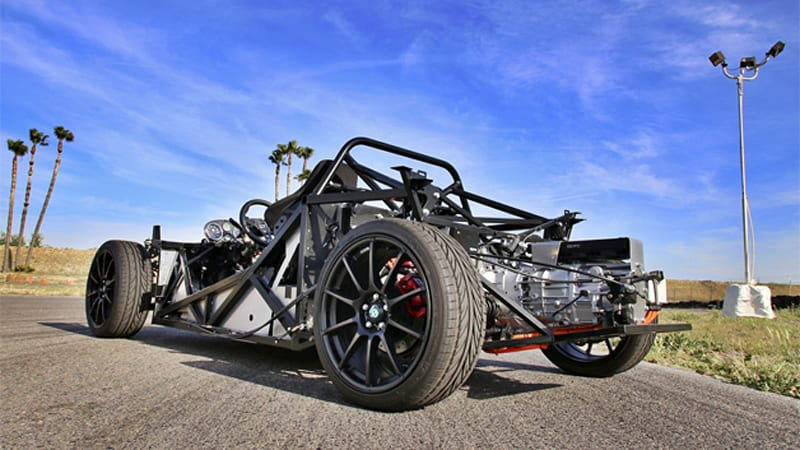 Factory Five Racing 818 Electric Ushers In New Era Of Ev Builds W Video Autoblog