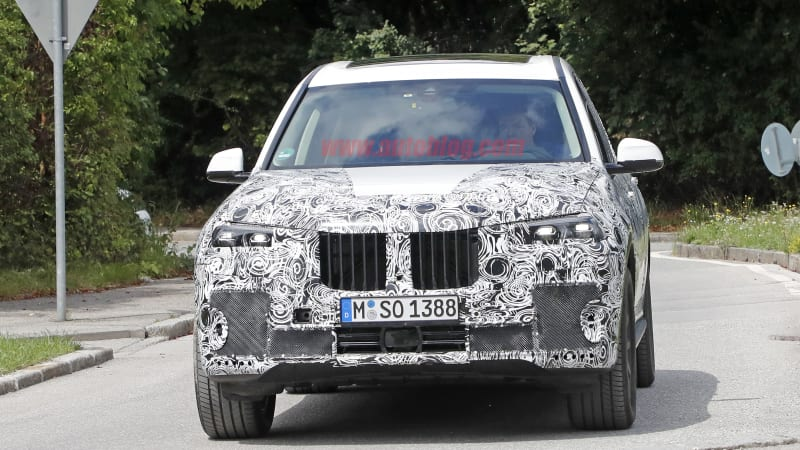 2019 Bmw X7 Nearly Ready For Potential Frankfurt Debut Techristic Com