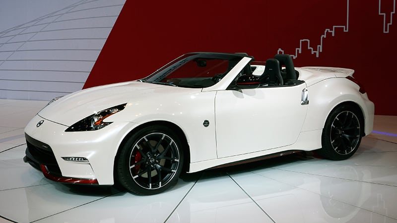 nissan 370z nismo roadster concept looks ready to roll autoblog. Black Bedroom Furniture Sets. Home Design Ideas