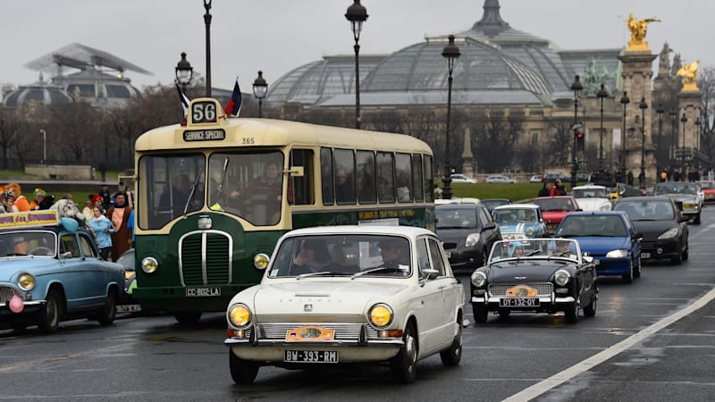 Classic collector cars won't be banned from Paris streets