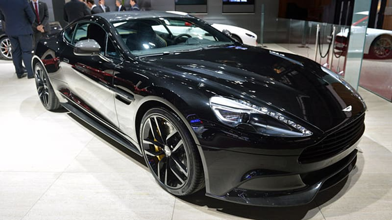 Aston Martin Vanquish Carbon Edition Is Back In Black Wvideo