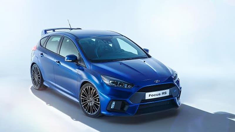We Won T Officially See The New Ford Focus Rs Until Blue Oval Shows It To World At An Event On Tuesday But Here Is Ahead Of Time