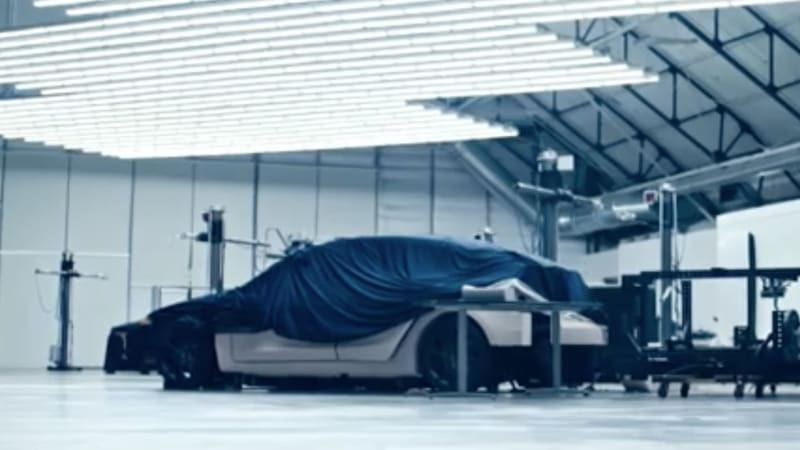 Tesla promotional video shows peek of Model Y, accelerating