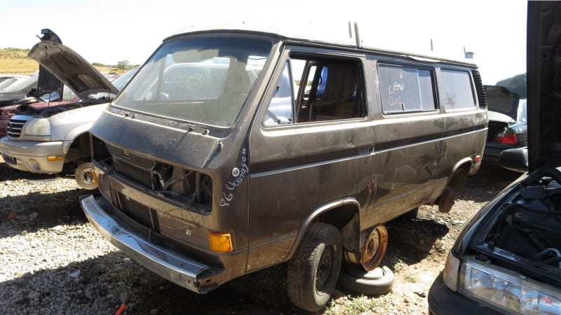 Junkyard Gem: 1986 Volkswagen Vanagon Westfalia Camper