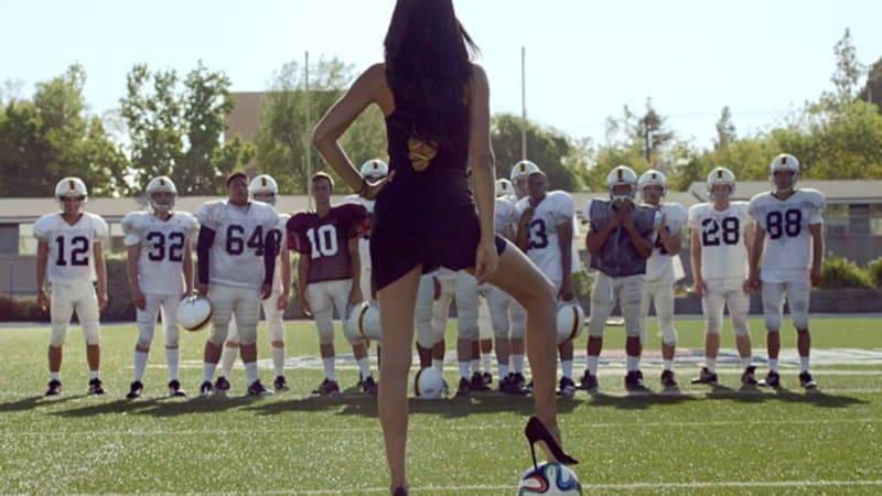 Supermodel Adriana Lima kicks off World Cup fever with Kia