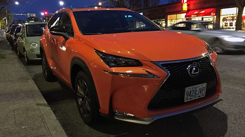 Stand Out In The Parking Lot 2017 Lexus Nx 200t F Sport Quick Spin
