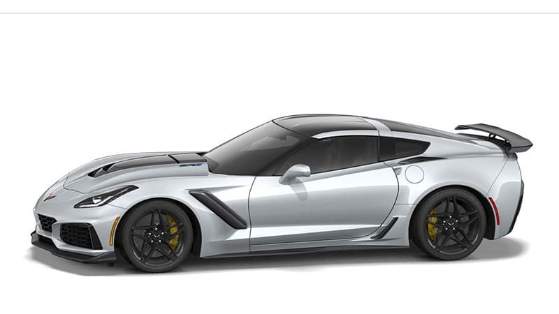 Chevy Corvette ZR1 configurator is now available to option ...