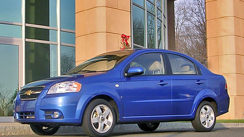 Gm Recalls 218000 Chevy Aveo Models Over Fire Prone Lighting Autoblog