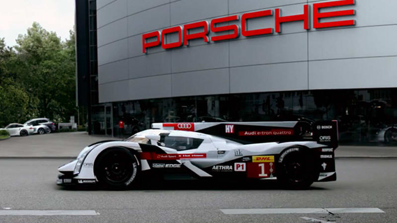 Audi welcomes Porsche back to Le Mans like any sibling would
