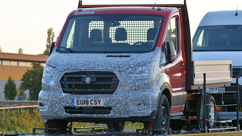 Ford Transit Will Get A Facelift Soon Autoblog
