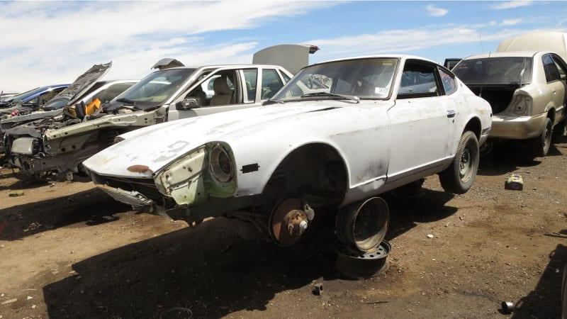 Zombified Z Car Junkyard Gem 1974 Datsun 260z Autoblog