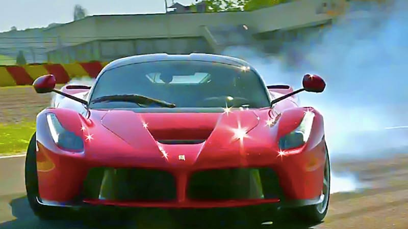 Watch the Ferrari LaFerrari get put through its paces by Top Gear and Evo