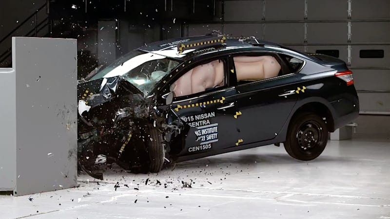 Nissan Sentra Crash Rating Improves Now Top Safety Pick W Video