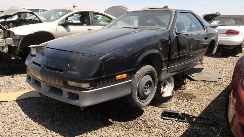 Junkyard Gem: 1989 Dodge Daytona Shelby - Autoblog