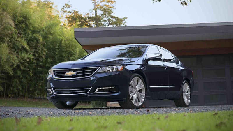 Chevrolet Has Announced That It Will Include Stop Start Technology As Standard In The Entry Level 2017 Impala Result Is A Nearly Five Percent