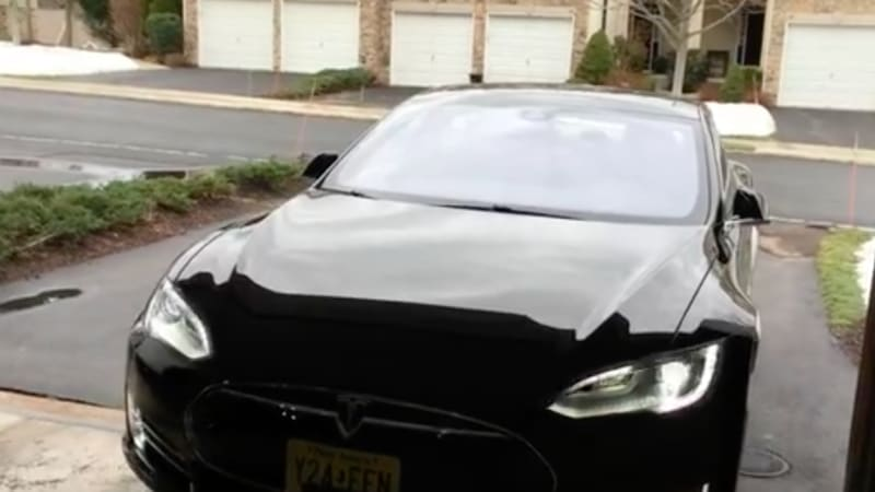 Tesla improves Summon feature with more safety   Autoblog