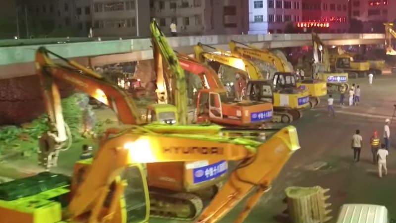 Rekordne rýchla práca cestárov v Číne