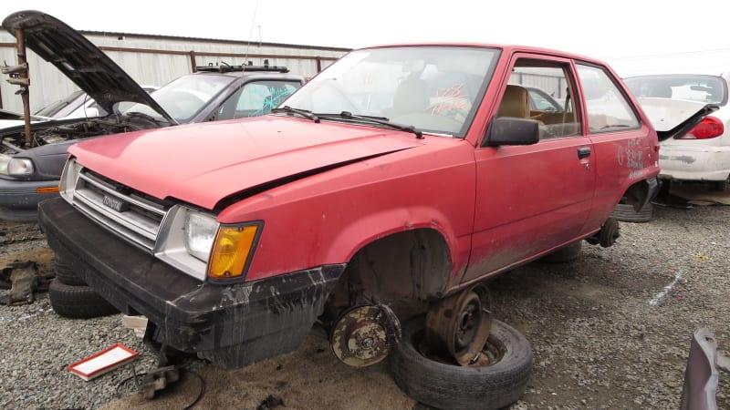 Junkyard Gem: 1985 Toyota Tercel Liftback