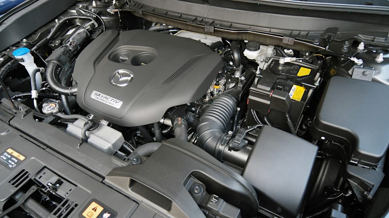 mazda's new turbo four fits in both the 6 and the 3 - autoblog