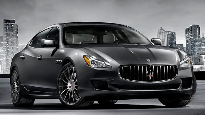 maserati updates quattroporte ghibli for 2015 at la auto show autoblog. Black Bedroom Furniture Sets. Home Design Ideas