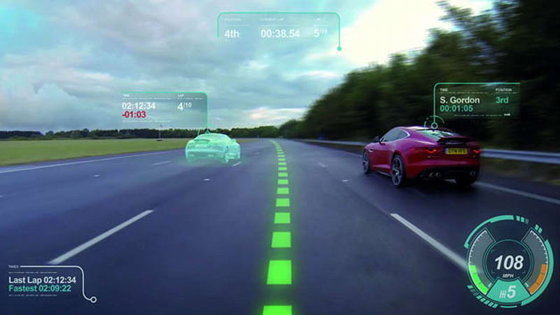 Jaguar wants to make real-life driving just like a video game