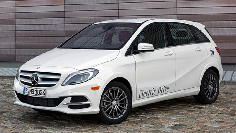 2014 mercedes b class electric drive zips in with 41 450 for Mercedes benz starting price