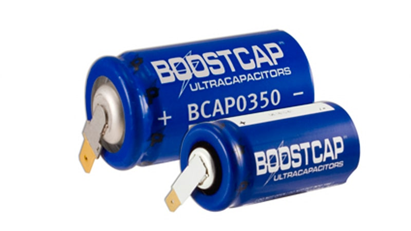 New 125-volt Boostcap ultracapacitor introduced by Maxwell
