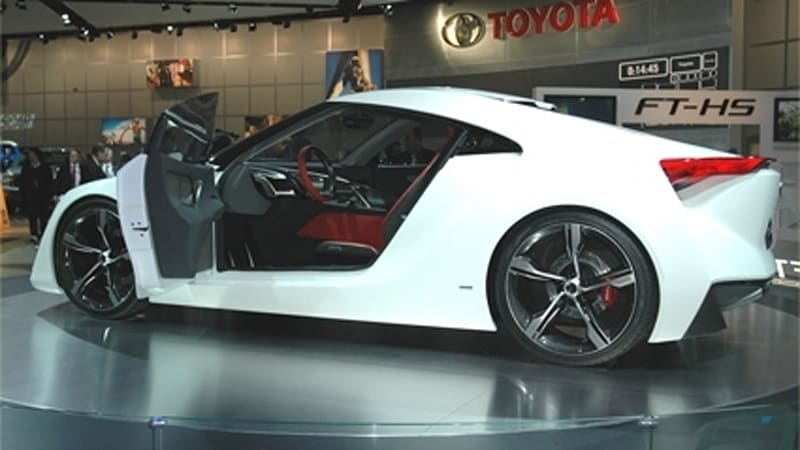 Detroit Auto Show Does The Toyota Ft Hs Look Better Than Lexus Concepts