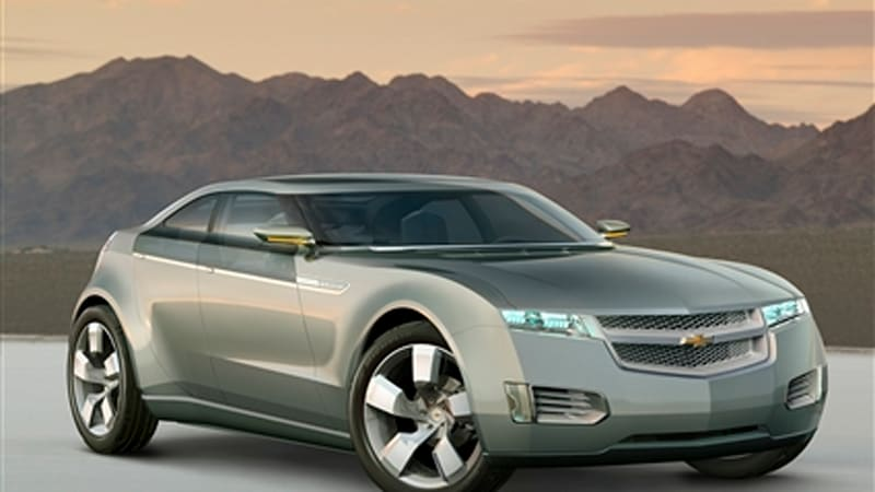 Detroit Auto Show It S Here Gm Plug In Hybrid Is The Chevy Volt Concept