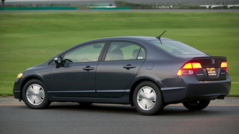 Honda Recalling 45 000 Civic Hybrids Worldwide