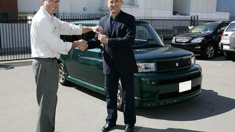 First Ebox From Ac Propulsion Delivered To Tom Hanks Autoblog