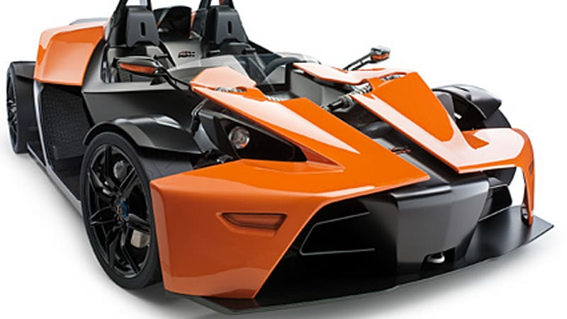 KTM using carbon fibre to make their X-BOW roadster faster - Autoblog