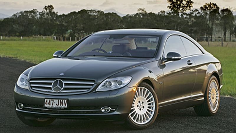 mercedes cl 600 v12 improves fuel consumption by 0 3 mpg autoblog. Black Bedroom Furniture Sets. Home Design Ideas