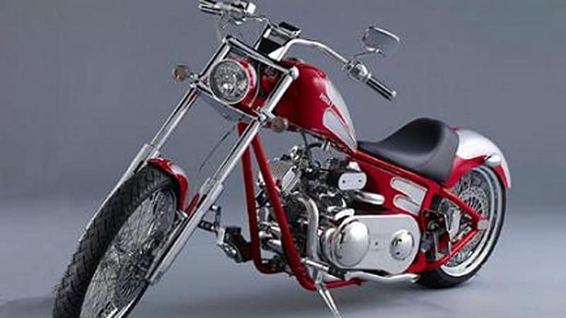 Ridley Motorcycles: Custom bikes, automatic transmissions