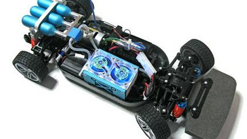 Hydrogen fuel cell radio controlled car hits the market at