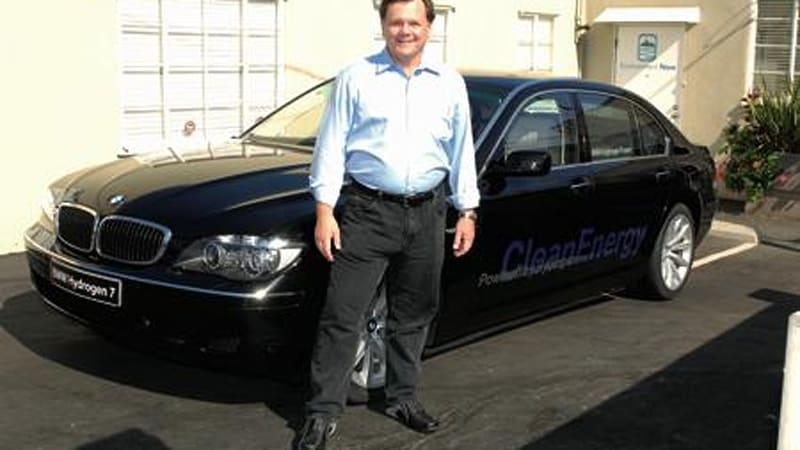 Terry Tamminen Will Take Bmw Hydrogen 7 For A Long Ride Autoblog