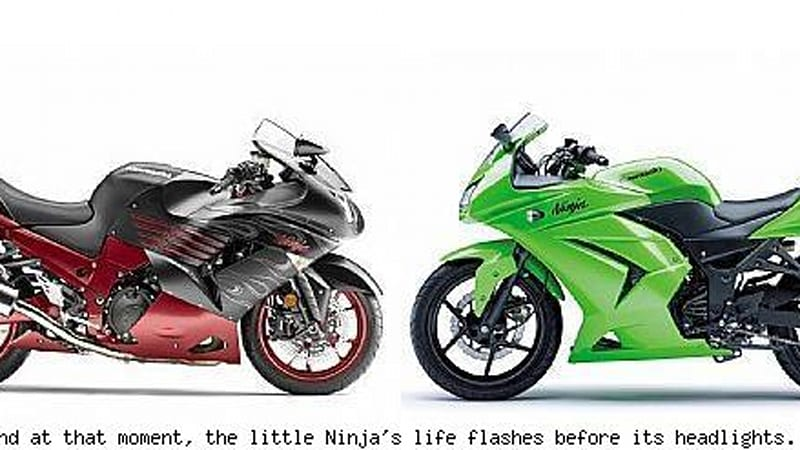 Kawasaki Touts The Fuel Economy Of Their Revised Ninja 250 Lowers